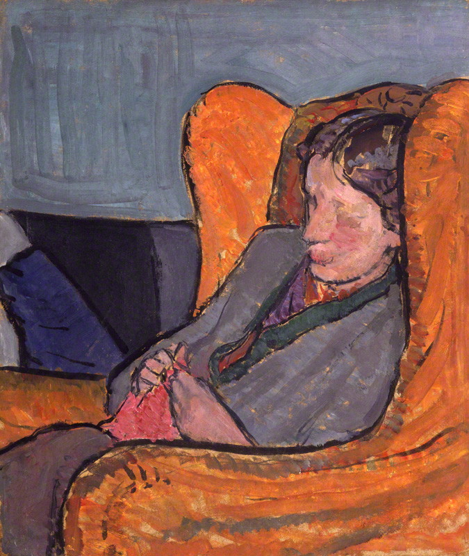 by Vanessa Bell (nÈe Stephen), oil on board, 1912